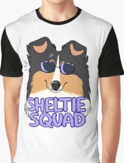 SHELTIE SQUAD (black and tan) Graphic T-Shirt