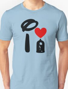 I Heart Beauty and The Beast Unisex T-Shirt