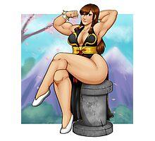 Street Fighter - Chun-Li Pinup Photographic Print