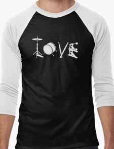 Love Drum Men's Baseball ¾ T-Shirt