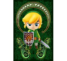 Cute Link Egg Head Photographic Print