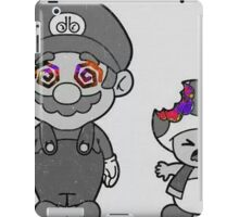 Mario an shrooms  iPad Case/Skin