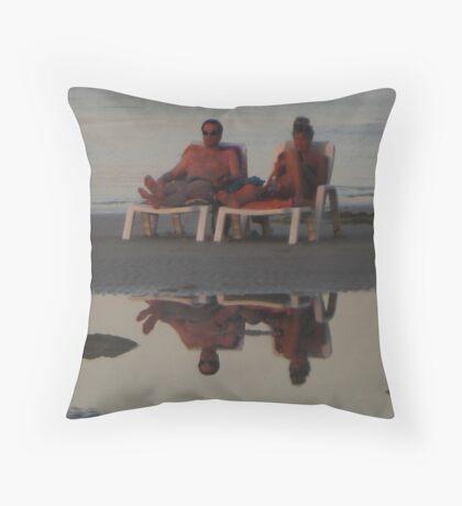 Best Sunset Viewing Throw Pillow
