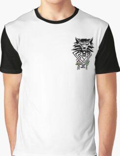 Witcher Medallion Graphic T-Shirt