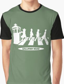 Gallifrey Road Graphic T-Shirt