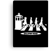 Gallifrey Road Canvas Print