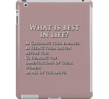 Pop Quiz! iPad Case/Skin