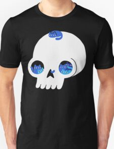 Skull Full Of Cats Unisex T-Shirt