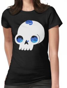 Skull Full Of Cats Womens Fitted T-Shirt