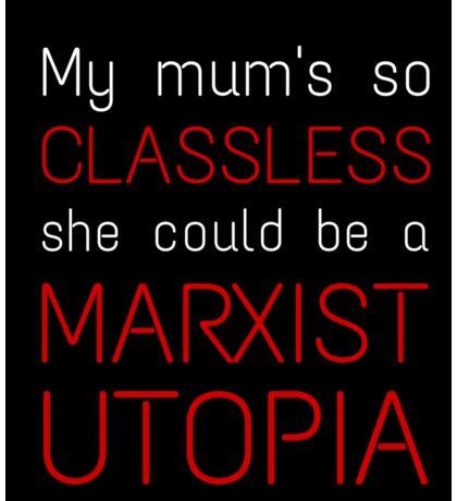 Marxist Utopia Sticker