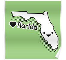 Cute Florida Poster