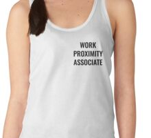 Work Proximity Associate Women's Tank Top