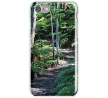 Green Fern Trail iPhone Case/Skin