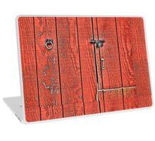 The Red Barn Door Laptop Skin