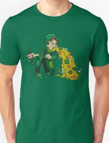 Irish Leprechaun Tossing Lucky Cookies T-Shirt
