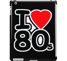 I Love 80s iPad Case/Skin