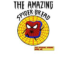 THE AMAZING SPIDER-BREAD by Notorious Gaming (I Am Bread) Photographic Print