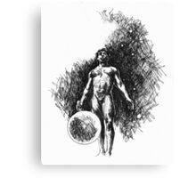 Earth Child  Canvas Print