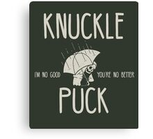 Knuckle Puck Canvas Print