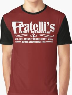 The Goonies Movie - Fratelli's Restaurant Graphic T-Shirt