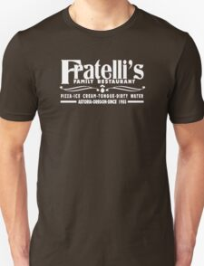 The Goonies Movie - Fratelli's Restaurant Unisex T-Shirt