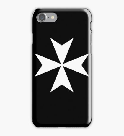 Cross of the Knights Hospitaller iPhone Case/Skin