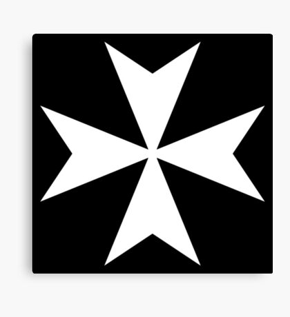 Cross of the Knights Hospitaller Canvas Print