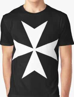 Cross of the Knights Hospitaller Graphic T-Shirt