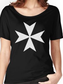 Cross of the Knights Hospitaller Women's Relaxed Fit T-Shirt