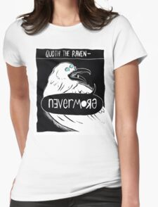 Quoth the Raven - Nevermore V2 Womens Fitted T-Shirt