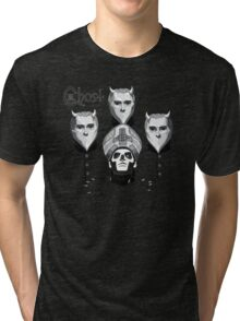queen ghost mashup Tri-blend T-Shirt