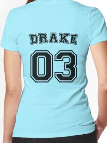 Tim Drake Sports Jersey Women's Fitted V-Neck T-Shirt