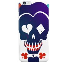 Harley Quinn emoji iPhone Case/Skin
