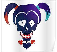 Harley Quinn emoji Poster