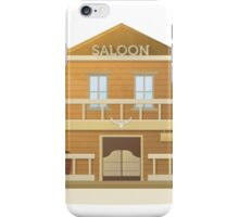 Western Saloon iPhone Case/Skin