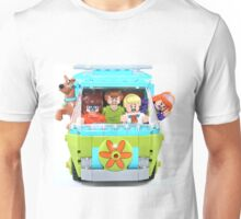 Lego Scooby Doo and The Mystery Machine Unisex T-Shirt