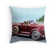 Colorized 1930 Graham-Paige  Throw Pillow