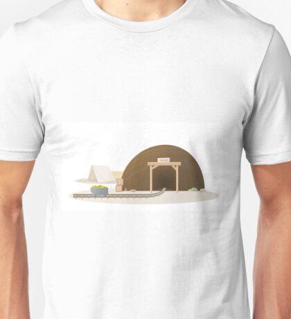 Western Gold Mine  Unisex T-Shirt