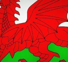 Welsh Dragon Flag 2 Sticker