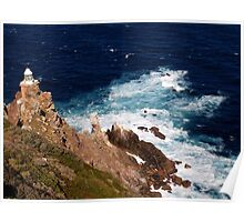 Cape Point Lighthouse, South Africa Poster