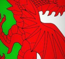 Welsh Dragon 4 Sticker