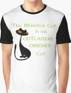 Minister's Cat Obsessed Graphic T-Shirt