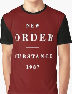 New Order Substance Graphic T-Shirt