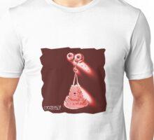 jelly alien cartoon style illustration red Unisex T-Shirt