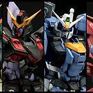 ZAFT Gundams by saintism