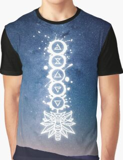 The Witcher Signs Graphic T-Shirt