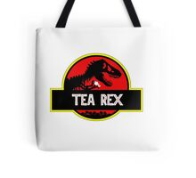 Tea Rex Coffee Relax Tote Bag