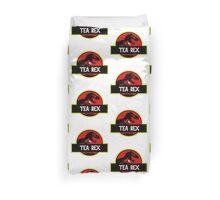 Tea Rex Coffee Relax Duvet Cover