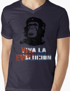 Viva la evolucion - cuban parody Mens V-Neck T-Shirt