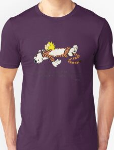 Calvin And Hobbes Quote T-Shirt